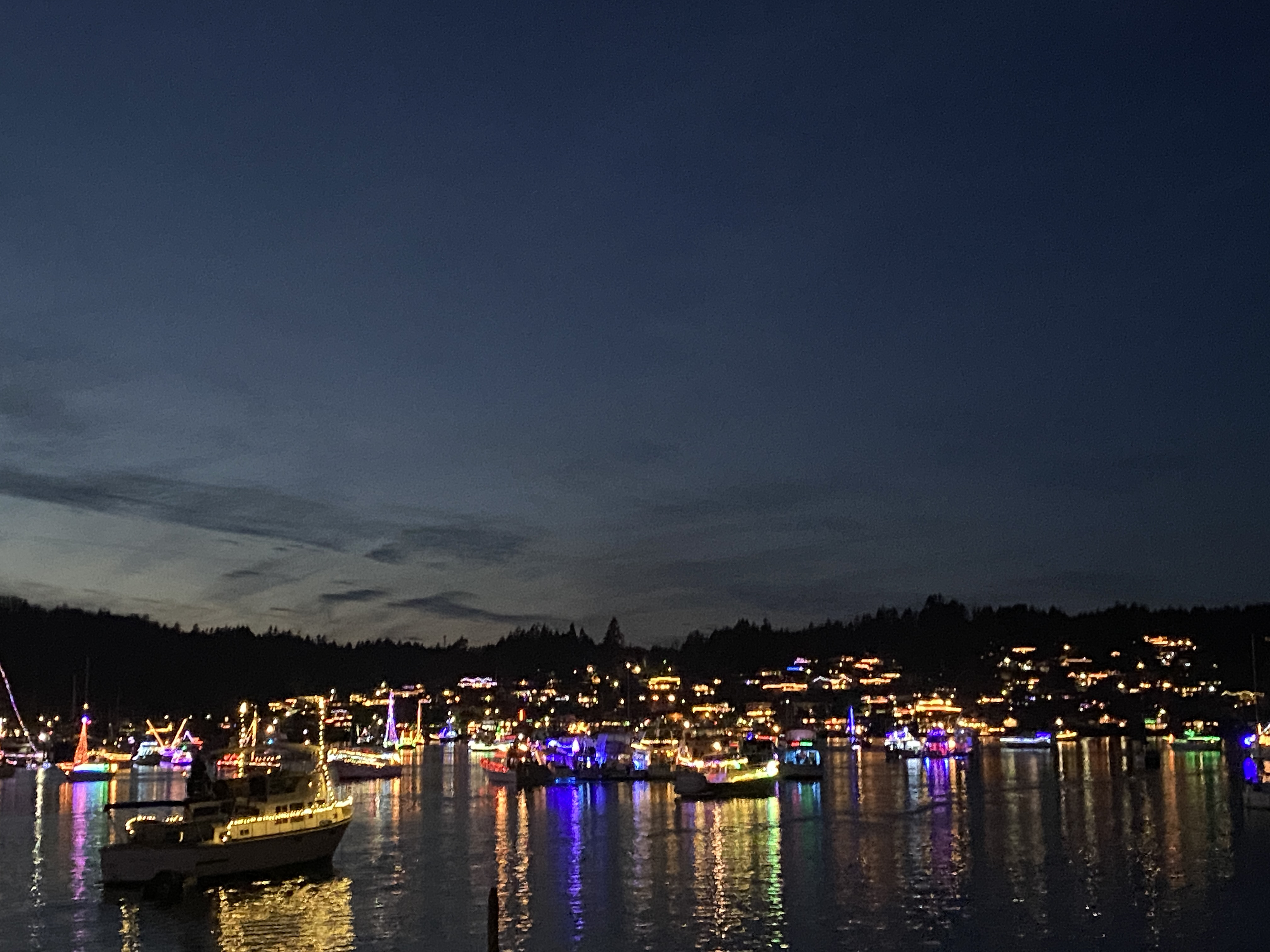 Christmas Boat Parade Gig Harbor 2021 2020 Lighted Boat Parade R Lil Ship